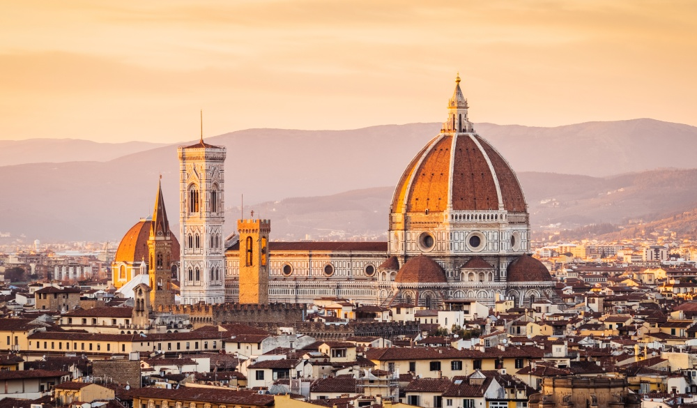 Florence's cathedral, italian road trip destination