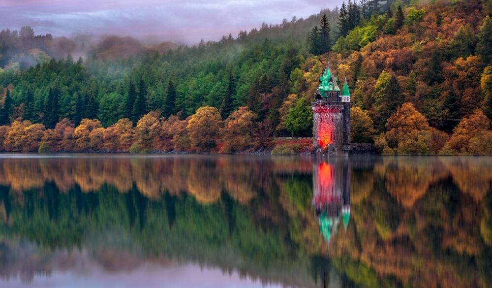 Lake Vyrnwy, Powys, Wales, UK, best lake getaways