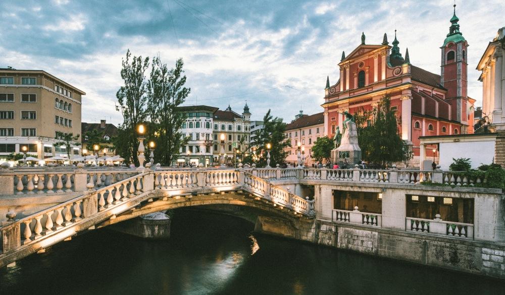 Ljubljana, Slovenia, East Europe.