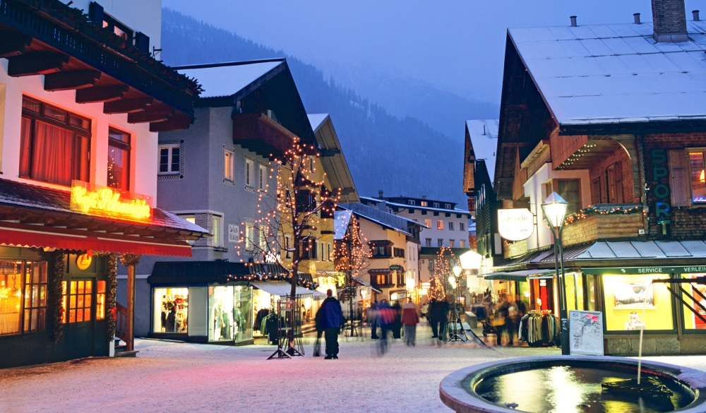 Saint Anton, destination for road trips in austria