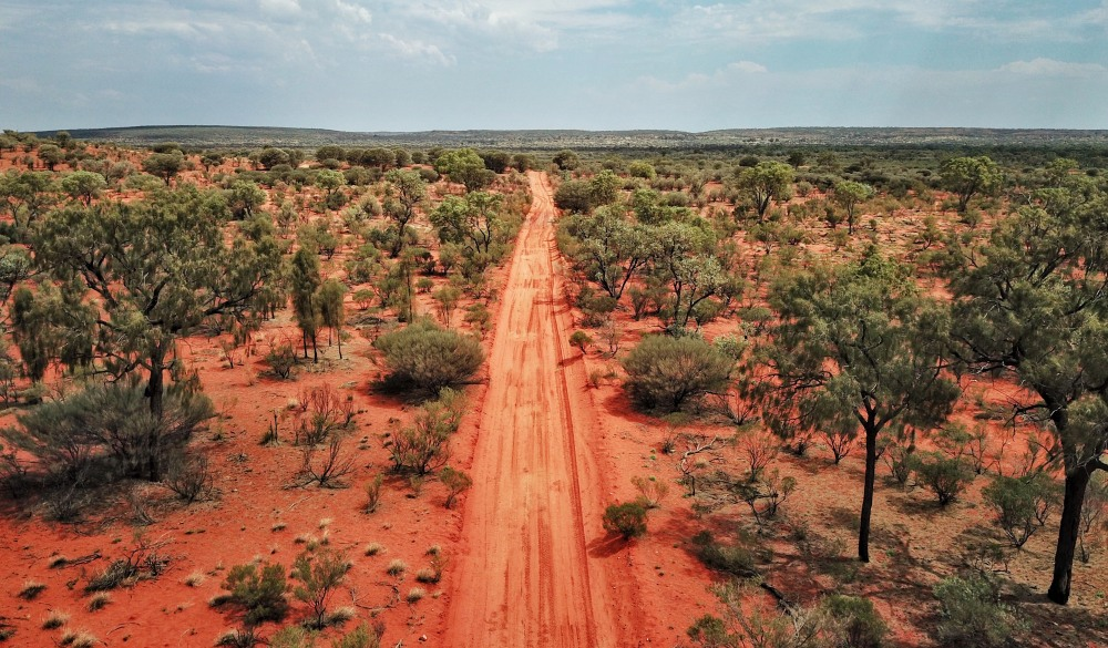 red centre roads in the Australian Outback, iconic australian road trip destination