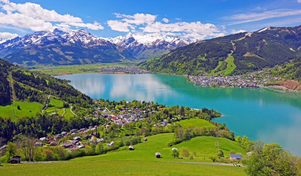Zell am See, Austria, destination fr road trips in austria