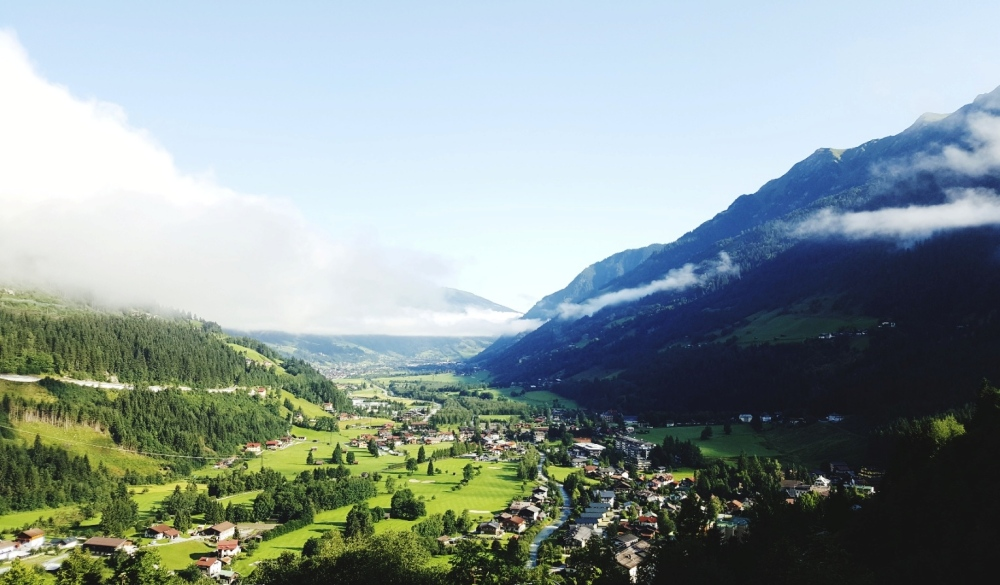 Austria, Bad Gastein, destination for road trips in austria