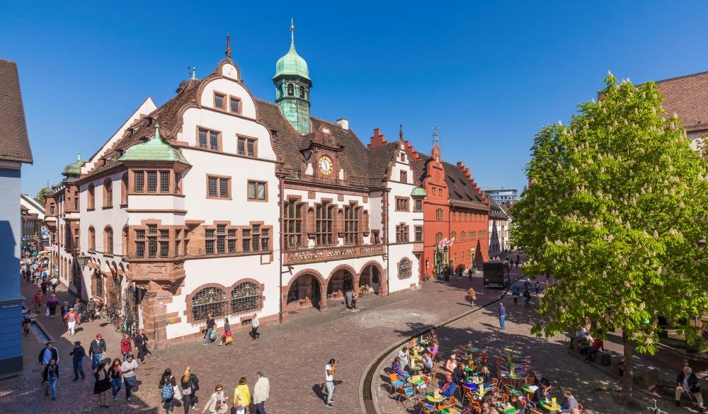 Germany, Baden-Wuerttemberg, Freiburg, New City Hall