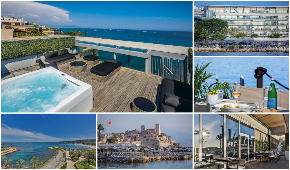 Royal Antibes, hotel for french riviera road trip