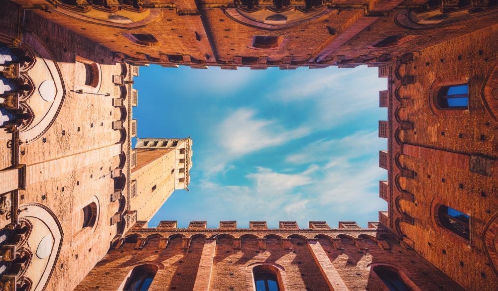 Torre del Mangia at Palazzo Pubblico, Italian road trip destination