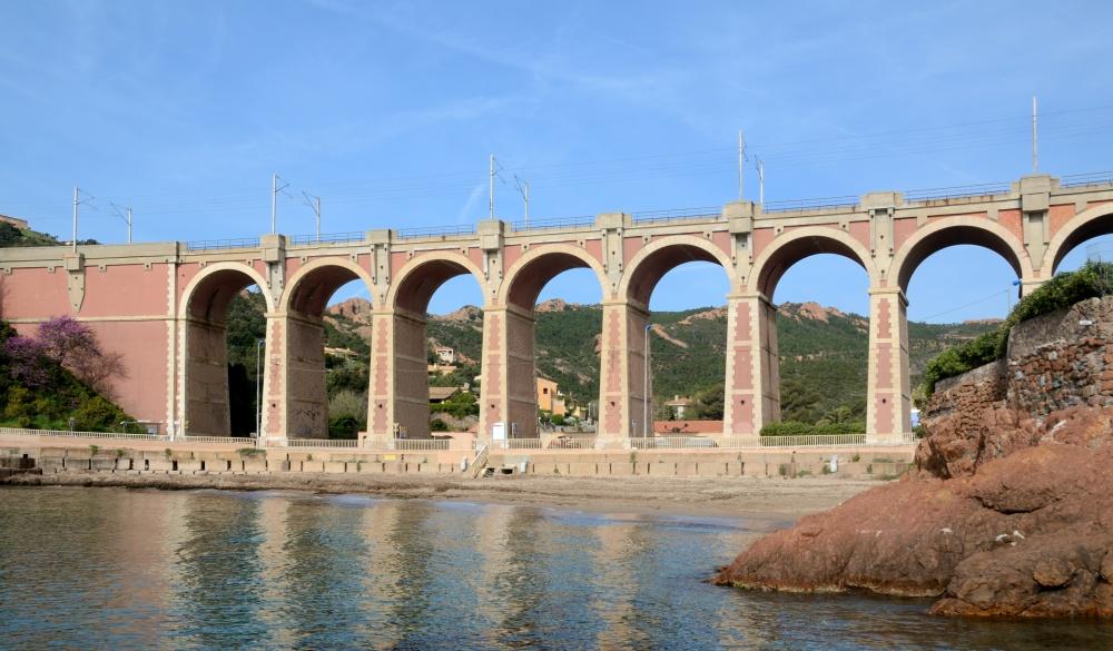 Antheor Viaduct & Beach St Raphael
