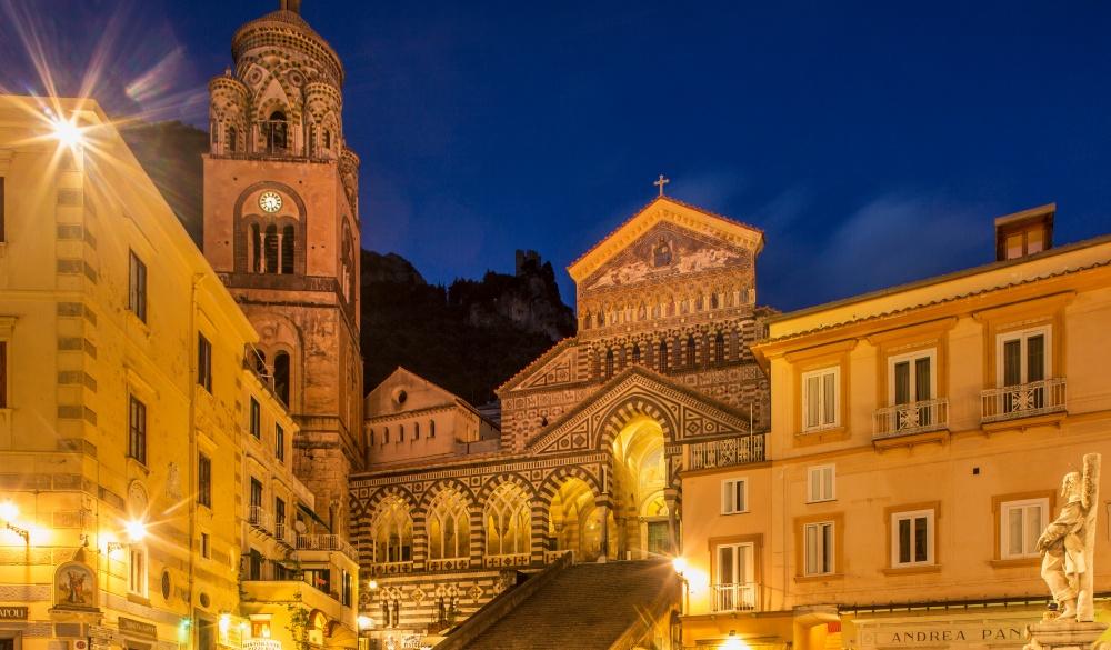 Amalfi Cathedral, Italian road trip] destination