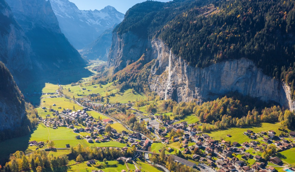 Lauterbrunnen, Canton of Bern, Switzerland, Europe