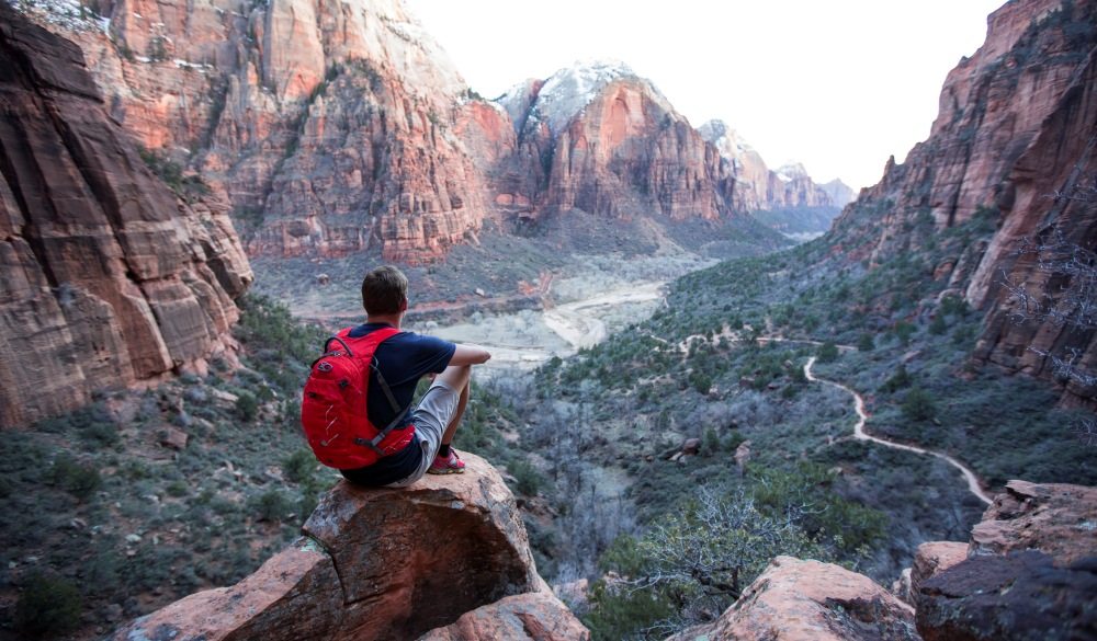 hiking in Zion, best hike in the US
