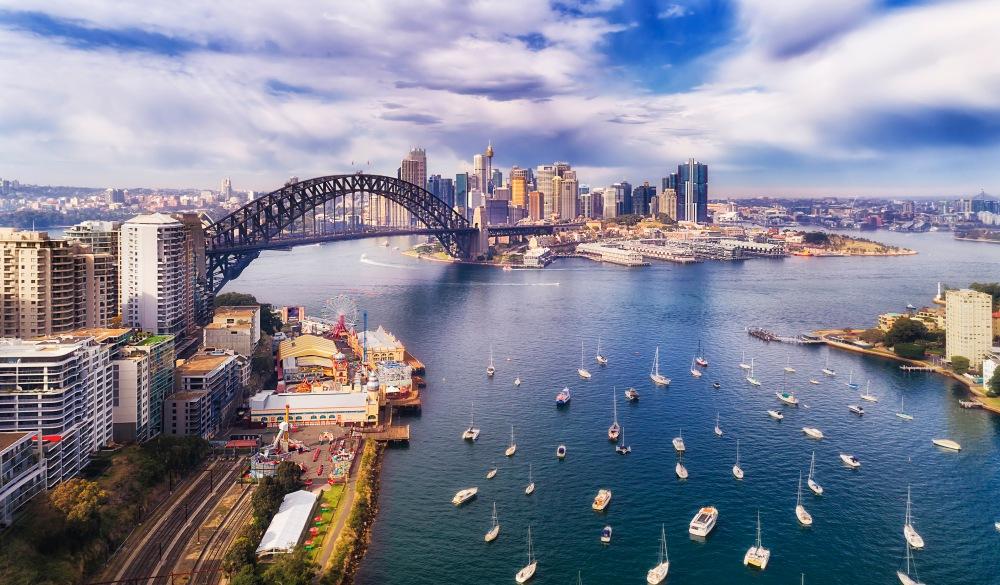 Lavender bay of Sydney harbour