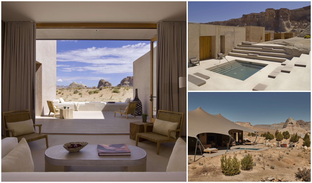 Amangiri, hotle for motorcycle rides road trip