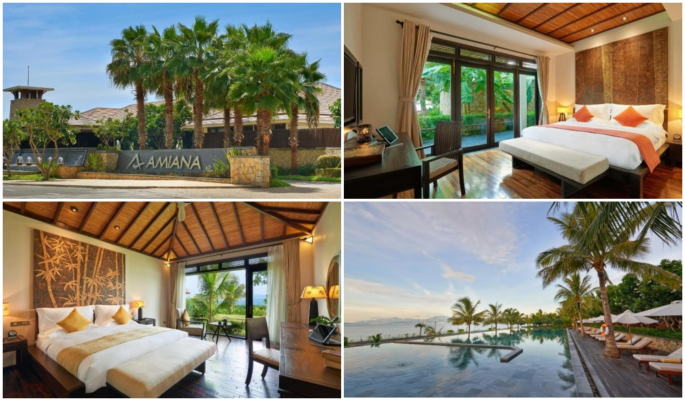 Amiana Resort Nha Trang, beach hotel