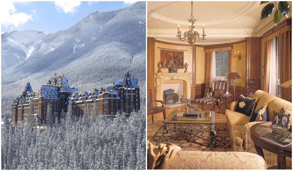 Fairmont Banff Springs, hotel near scenic train ride