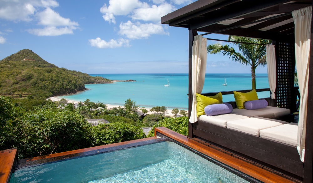 Hermitage Bay, hotel for a crowd-free vacation