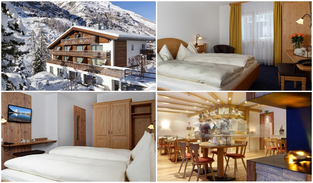 Hotel Plateau Rosa, zermatt ski hotel