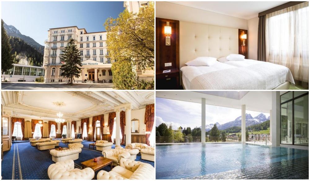Hotel Reine Victoria, hotel near scenic train ride