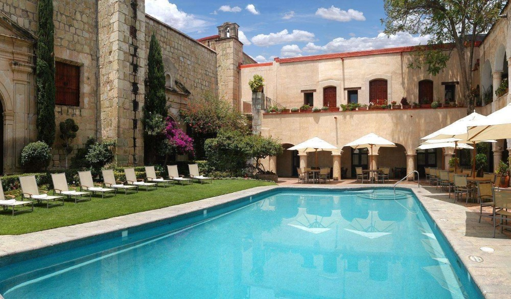 Quinta Real Oaxaca, hotel for the day of the dead celebration