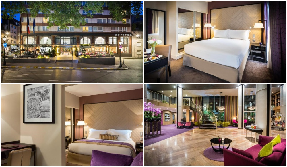 Sofitel Strasbourg Grande Ile, hotel near destinations for a weekend getaways in europe