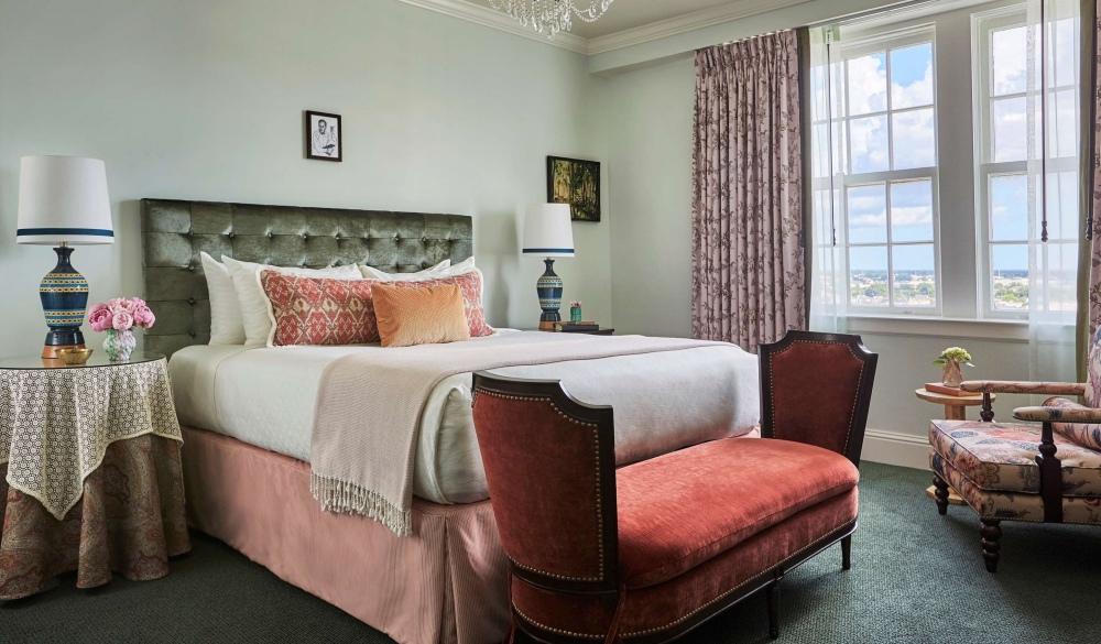 The Pontchartrain Hotel, hotel near mardi gras in New orleans
