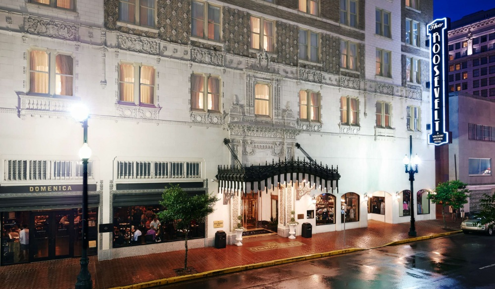 The Roosevelt New Orleans, A Waldorf Astoria Hotel, hotel to stay this Christmas