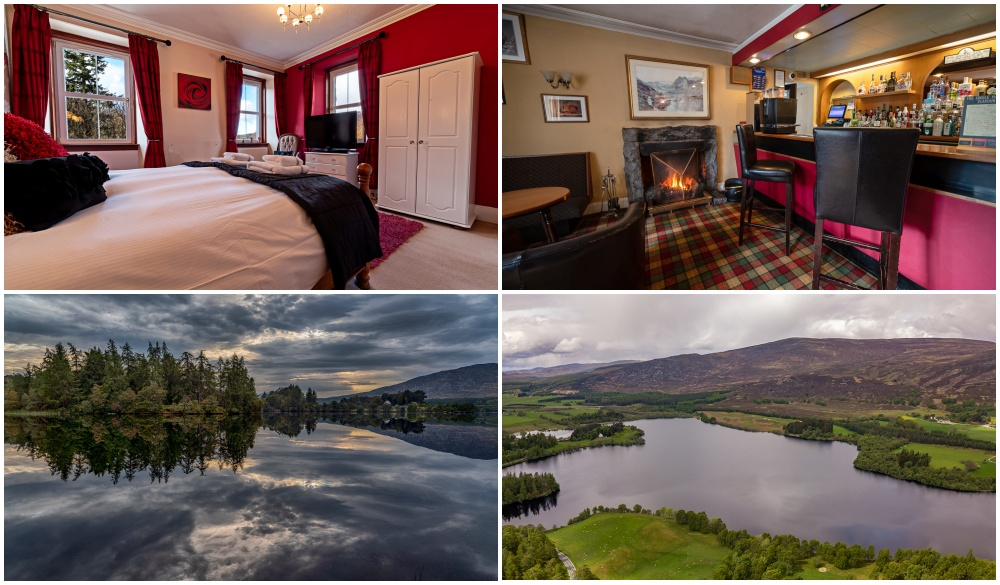 The Rowan Tree Country Hotel, hotel for Scottish Highlands road trip
