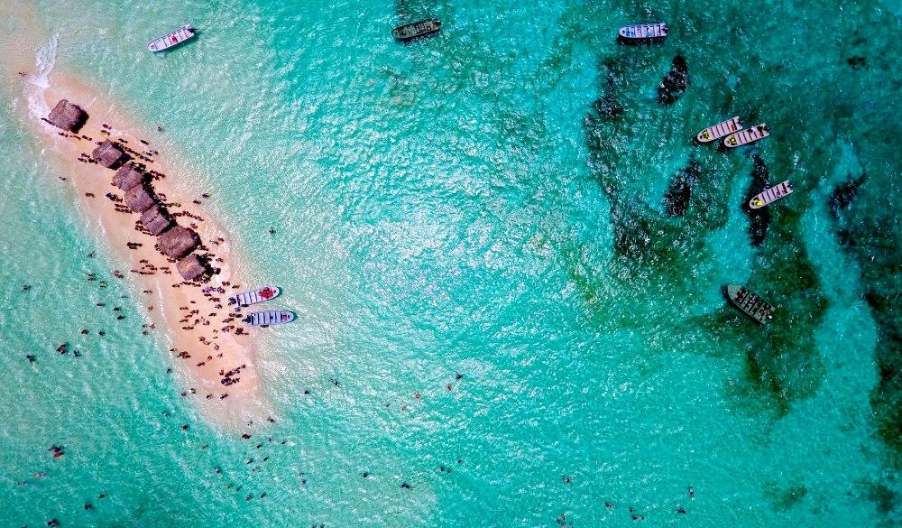 Crowd At Beach