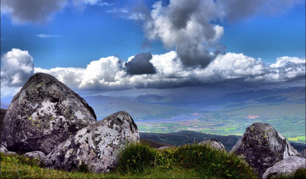 mountain Ben Navis, scottish highlands destinations
