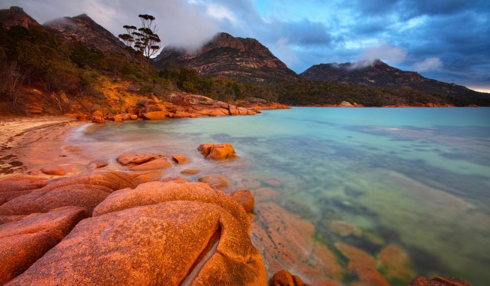 Honeymoon Bay Freycinet Peninsula Tasmania, romantic destinations in Australia