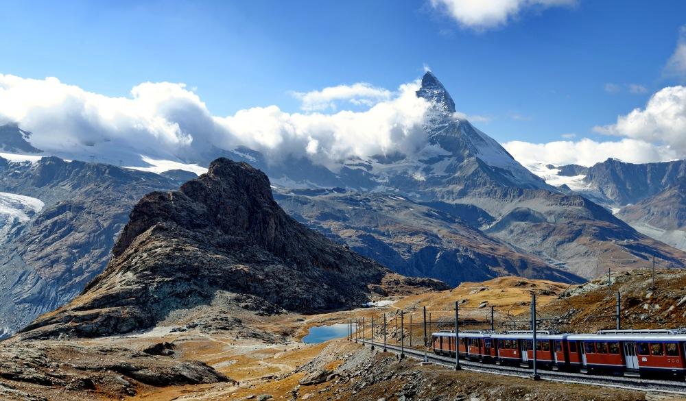 Train et Cervin, scenic train ride