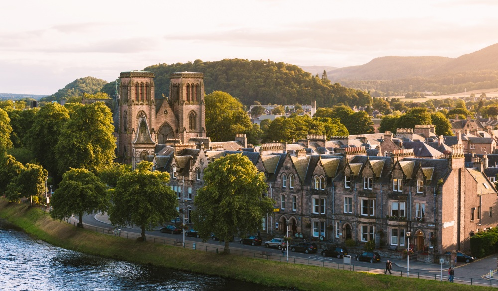 Inverness In Scotland, scottish highland destinations