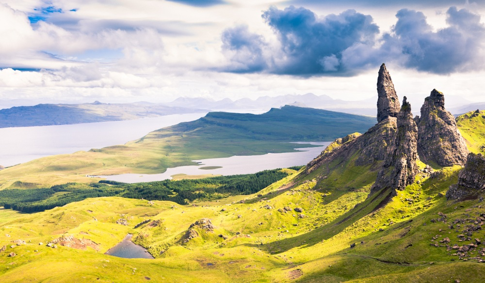 Old Man of Storr, scottish highlands road trip destinations
