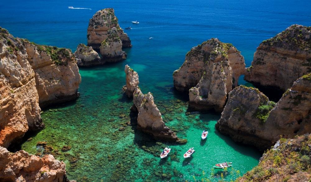 Ponta da Piedade, destination for portugal road trip