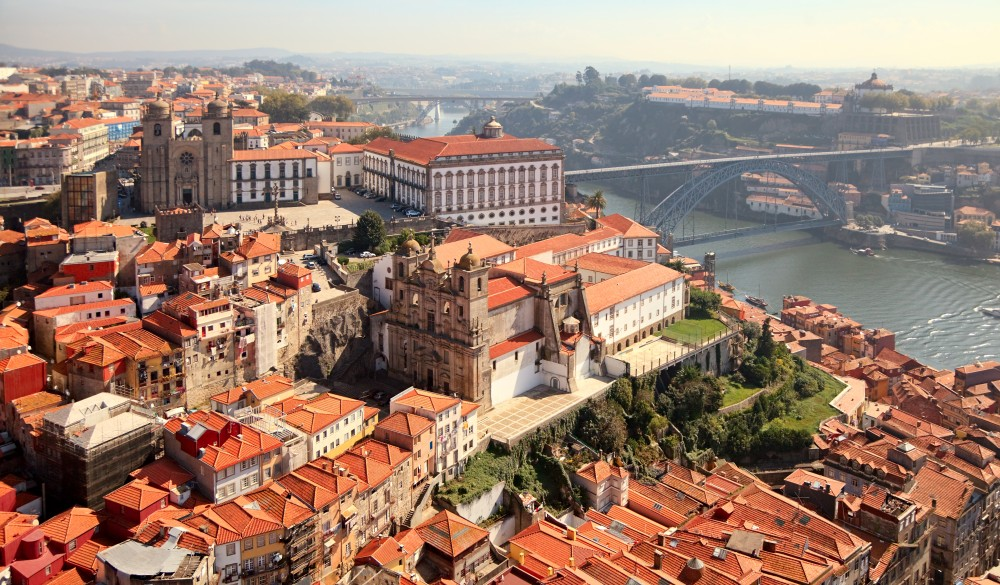 old town of Porto, Portugal, destination for a weekend getaways in europe