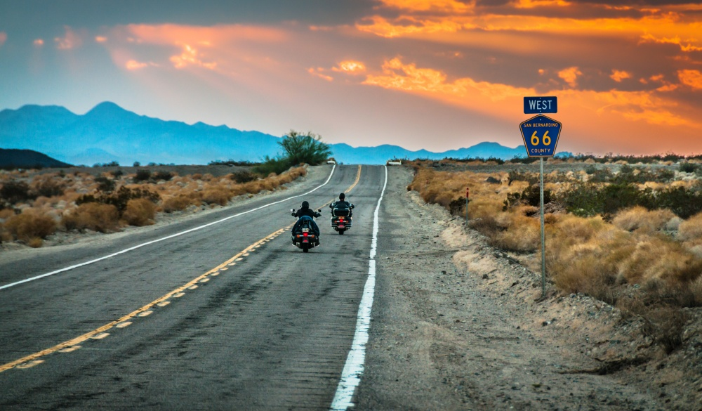 Route 66 Riders, motorcycle rides road trip