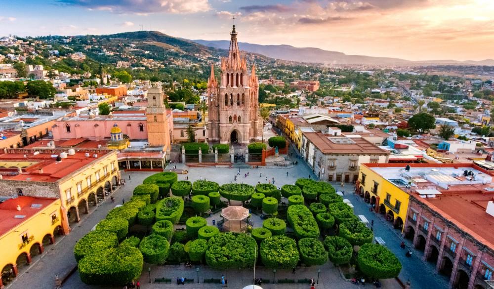 San Miguel de Allende Mexico, destination for day of the dead celebration