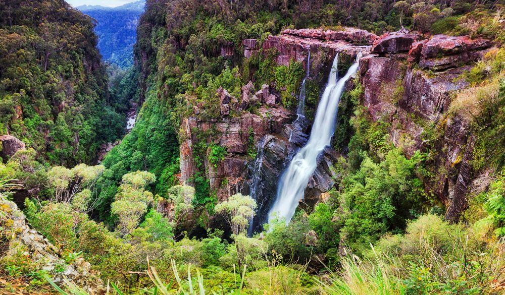 Carrington Falls, romantic destinations in Australia