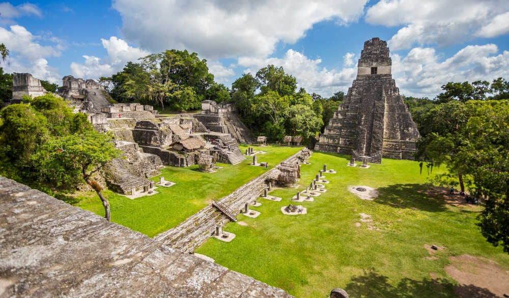 Mayan ruins at Tikal National Park, mayan sites to visit