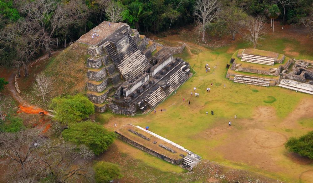 Ruins of the ancient Mayan Altun Ha