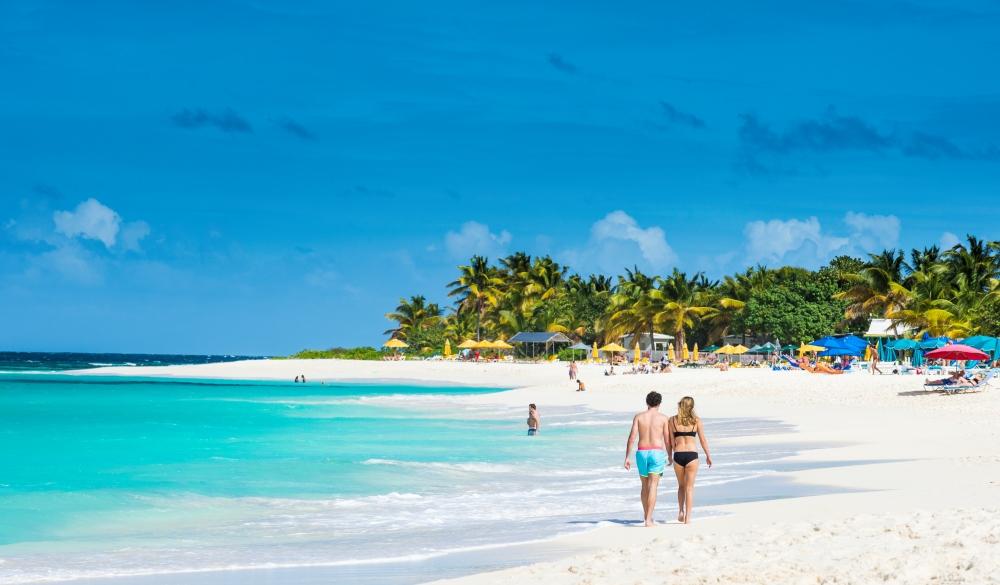 Shoal Bay East beach, Anguilla