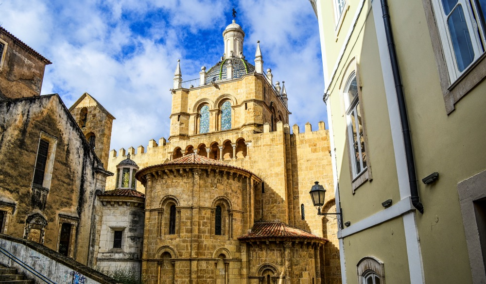 old Romanesque cathedral, Coimbra