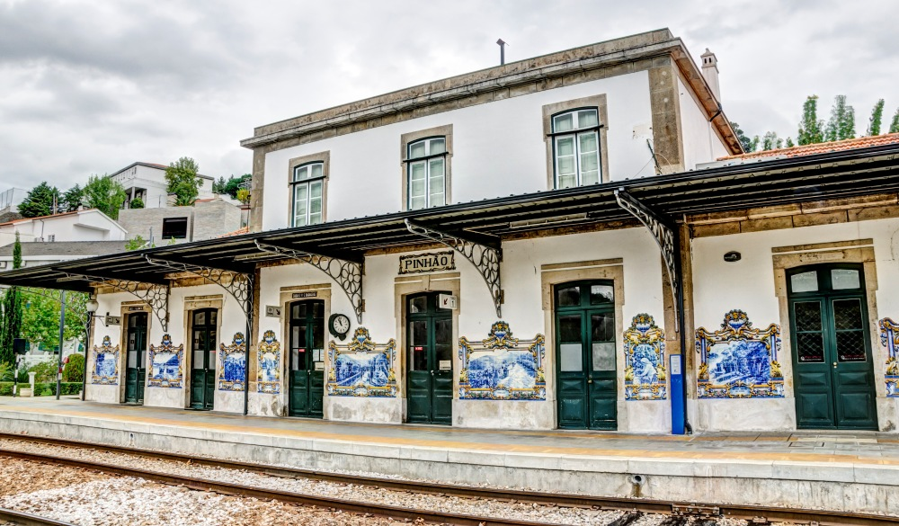 train station in the small town of Pinhao