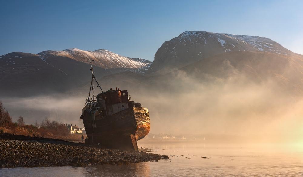 Ben Nevis & Corpach Shipwreck, Scotland, UK.