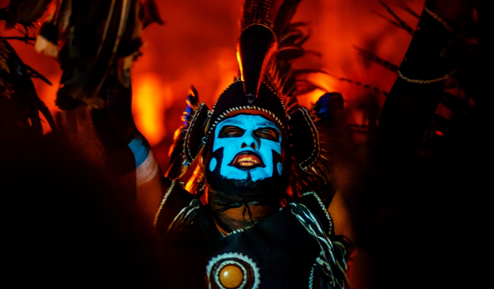 Aztec Man from Mixquic