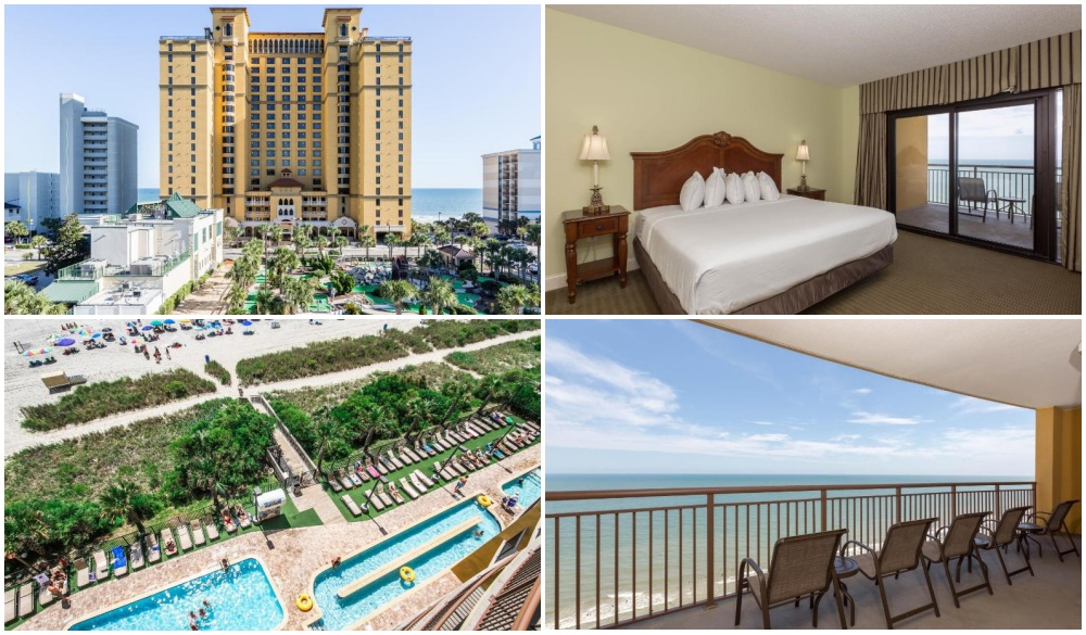 Anderson Ocean Club and Spa by Oceana Resorts, oceanfront hotel in myrtle beach