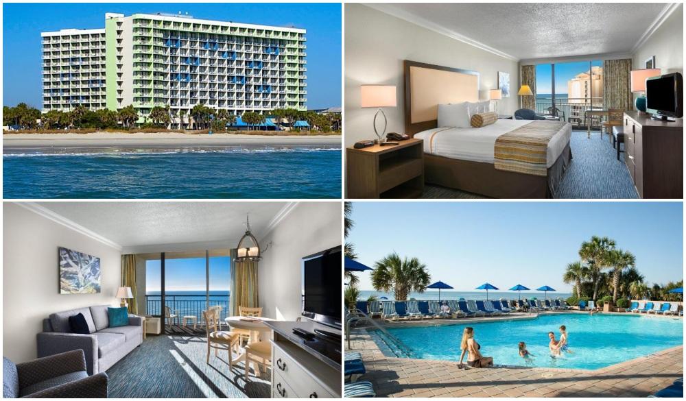 Coral Beach Resort Hotel & Suites, oceanfront hotel in myrtle beach