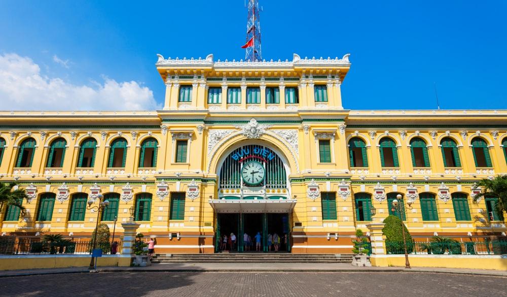 Saigon Central Post Office, Hochiminh