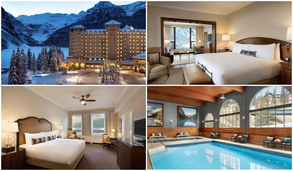 Fairmont Chateau Lake Louise, hotel for Tropical Paradise VS Winter Wonderland destination