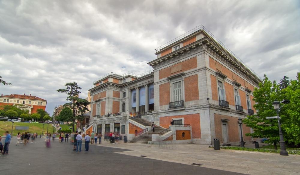 Entrance to the National Museum of the Prado