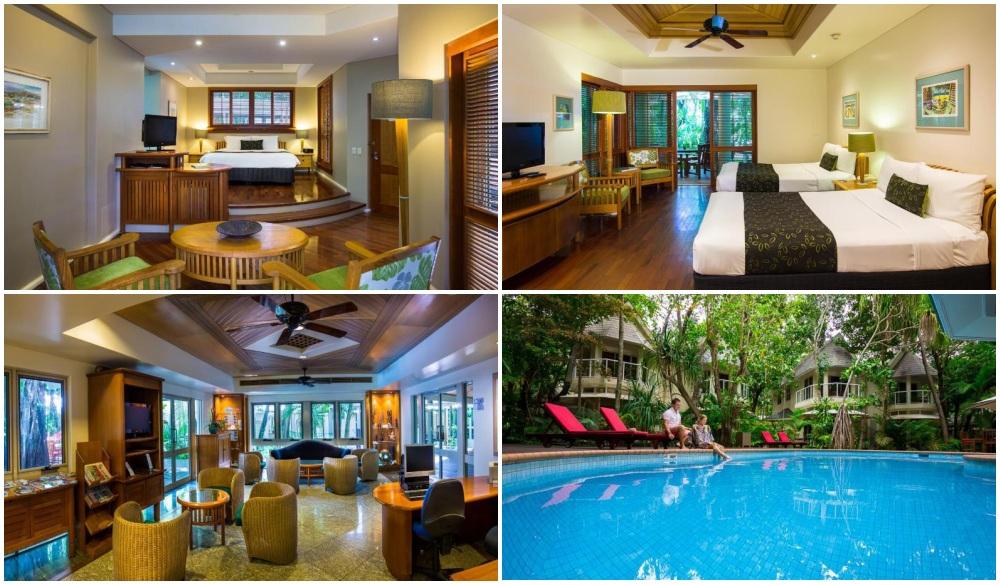 Green Island Resort, hotel for Tropical Paradise VS Winter Wonderland